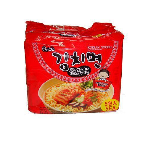韓國PALDO高麗麵泡菜味120g*5包【愛買】
