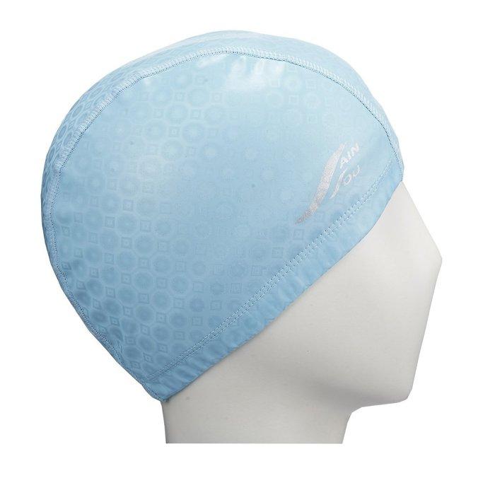 ☆小薇的店☆台灣製聖手品牌合成泳帽特價225元NO.A35601水藍