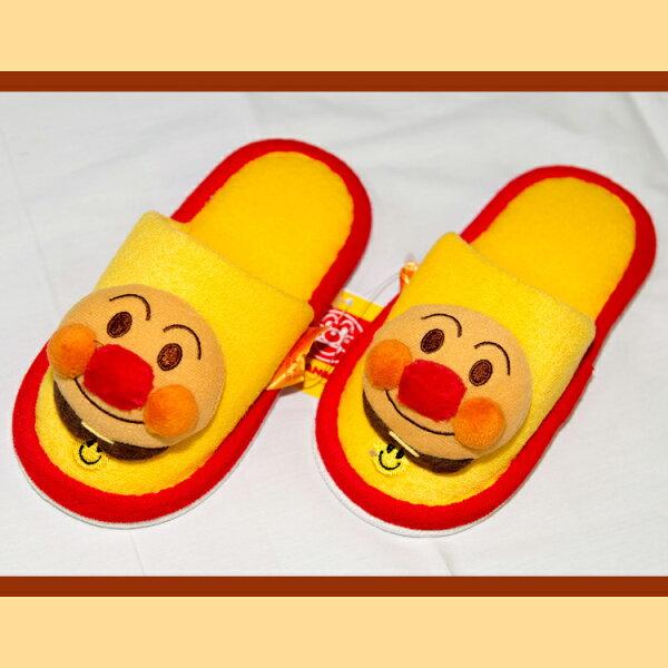 銘黃色麵包超人幼兒室內拖鞋適合14-16cm日本帶回正版商品