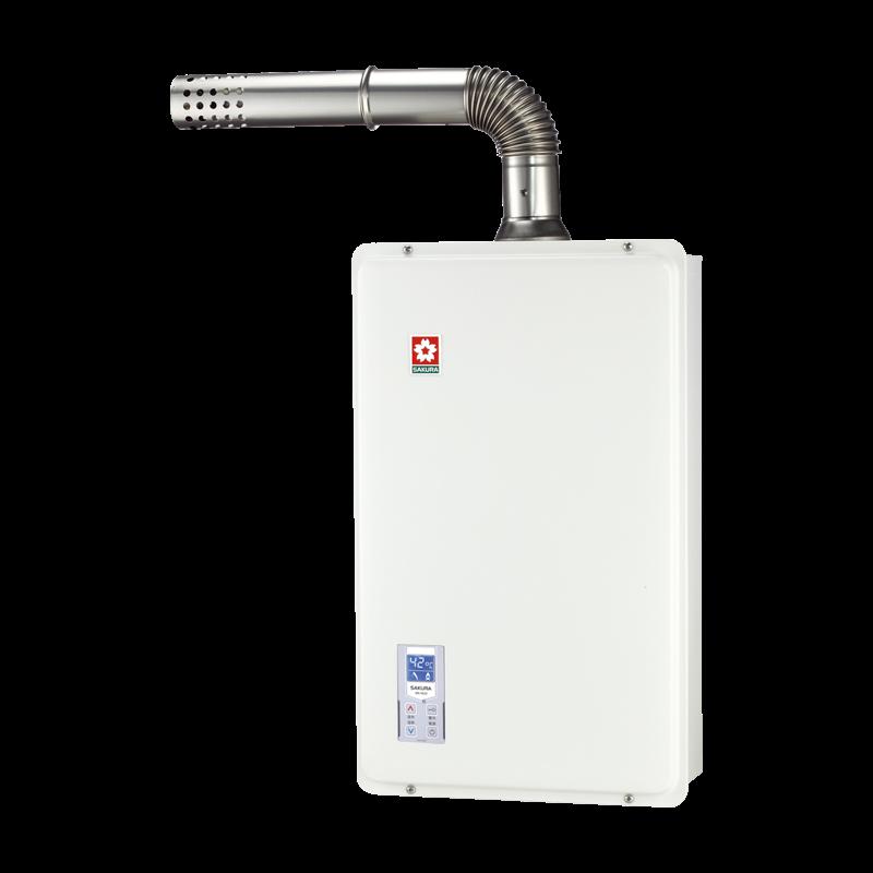 (櫻花)浴SPA數位恆溫熱水器(16L)-SH-1633