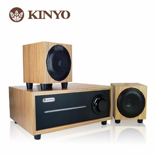 <br/><br/>  KINYO 2.1聲道全木質音箱KY-1601【愛買】<br/><br/>