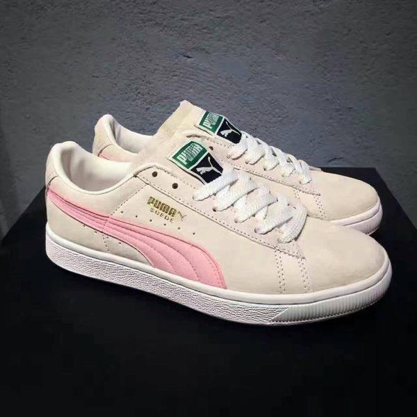 Puma 女神果粉系列休閒板鞋 粉膚色 女款