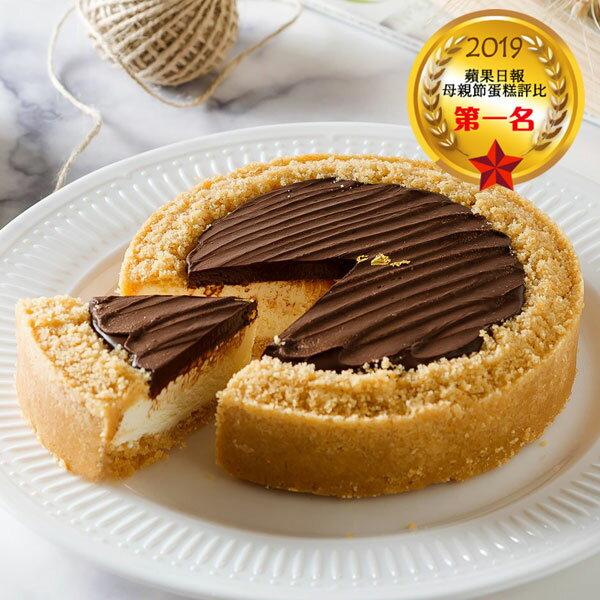 艾波索【比利時巧克力乳酪6吋】蘋果日報蛋糕評比冠軍!🏆 2019蘋果日報評比母親節蛋糕推薦 | 母親節蛋糕  網購蛋糕 0