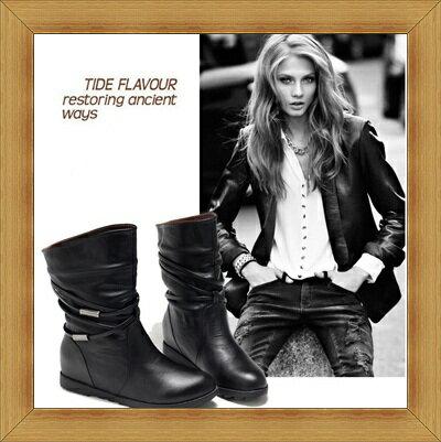 內增高鞋 休閒鞋-流行時尚隱形增高女鞋子2色51e1【韓國進口】【米蘭精品】