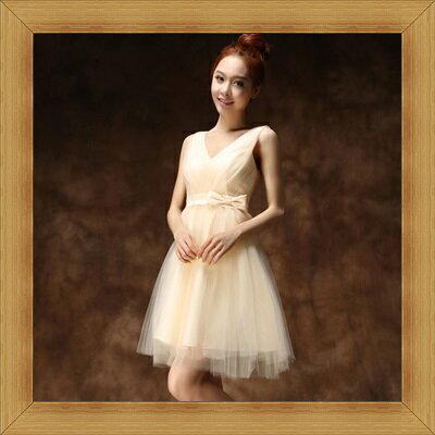 婚紗 結婚禮服-典雅氣質浪漫新娘伴娘晚宴服53b11【英國進口】【米蘭精品】