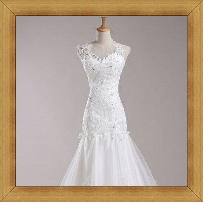 婚紗 結婚禮服-典雅氣質浪漫新娘伴娘晚宴服53b12【英國進口】【米蘭精品】