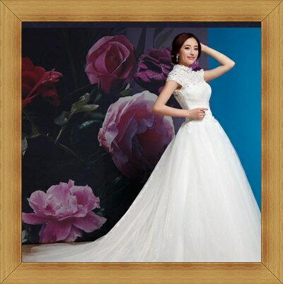 婚紗 結婚禮服-典雅氣質浪漫新娘伴娘晚宴服2色53b14【英國進口】【米蘭精品】