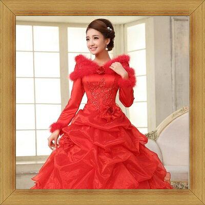 婚紗 結婚禮服-典雅氣質浪漫新娘伴娘晚宴服2色53b20【英國進口】【米蘭精品】