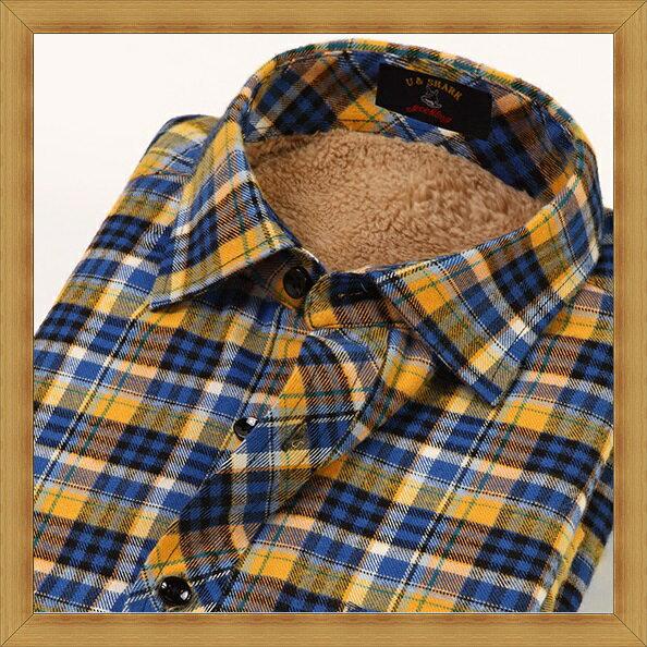襯衫 長袖上衣-修身休閒帥氣純棉男襯衫24色53c17【日本進口】【米蘭精品】