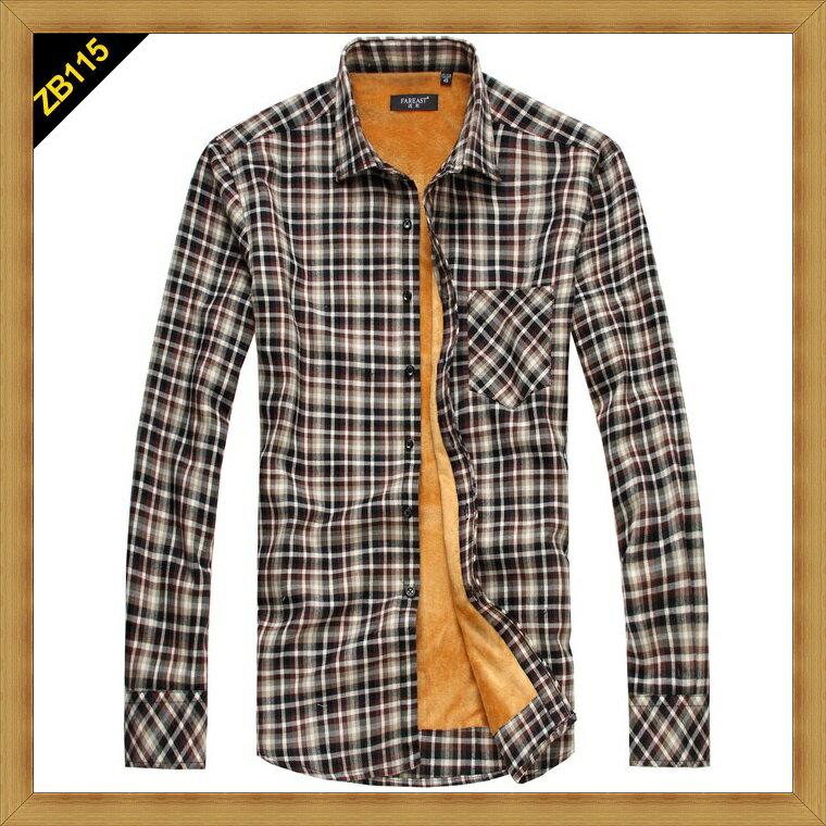 襯衫 長袖上衣-修身休閒帥氣純棉男襯衫24色53c8【日本進口】【米蘭精品】