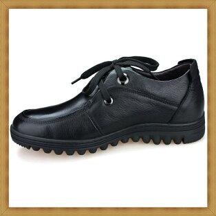 ☆增高鞋休閒鞋-隱形增高造型時尚真皮男皮鞋2色53e30【韓國進口】【米蘭精品】