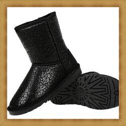 ☆雪靴 女鞋子-時尚蓬鬆保暖皮革女短靴6色53f6【澳洲進口】【米蘭精品】