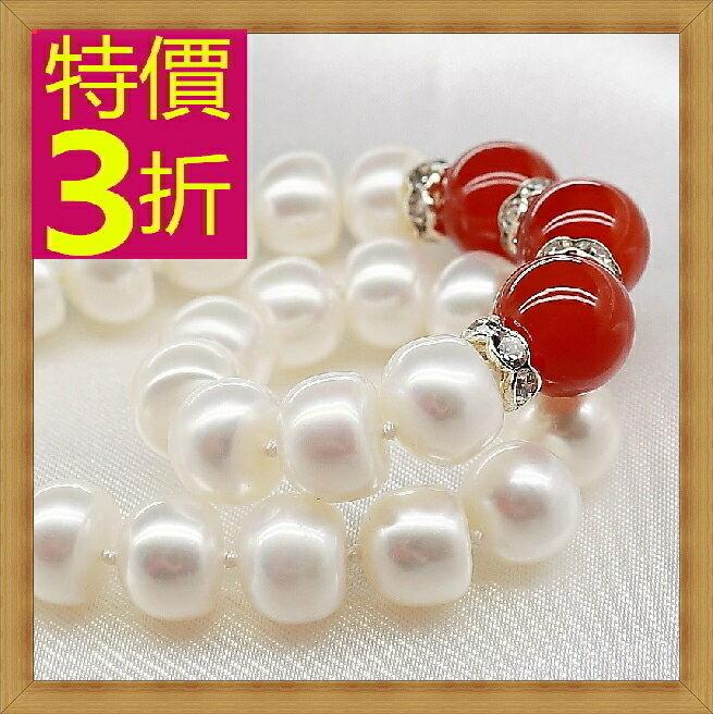 珍珠項鍊 女珠寶飾品-單顆9-10mm七夕情人節母親節生日禮物精美奢華首飾53pe3【法國進口】【米蘭精品】