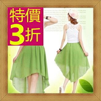 長裙  女裙子 -修身甜美氣質流行女裝15色53s40【韓國進口】【米蘭精品】