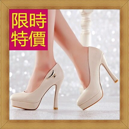 高跟鞋 女鞋子~ 優雅亮麗女休閒鞋3色53x73~韓國 ~~米蘭 ~