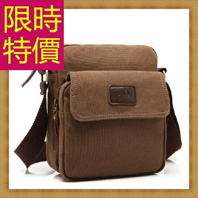 帆布包 肩背包-休閒百搭個性實用男側背包54f6【日本進口】【米蘭精品】