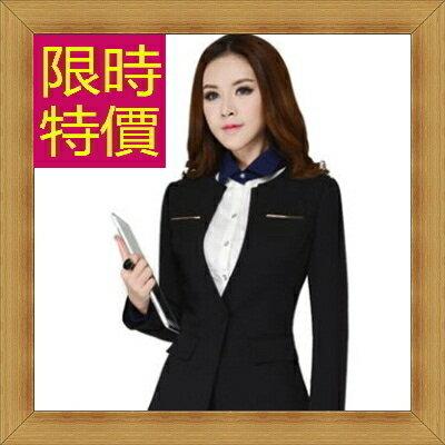 ☆OL套裝  上班族女制服-流行修身顯瘦長袖女裙裝5色54h36【韓國進口】【米蘭精品】