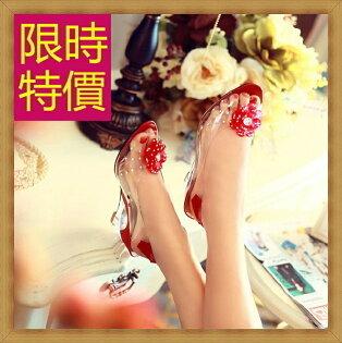 ☆坡跟涼鞋  女鞋子-夏季氣質精美水鑽女休閒鞋5色55l32【韓國進口】【米蘭精品】