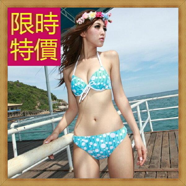 ☆比基尼泳衣(整套)-流行時尚性感女泳裝2色56j65【韓國進口】【米蘭精品】