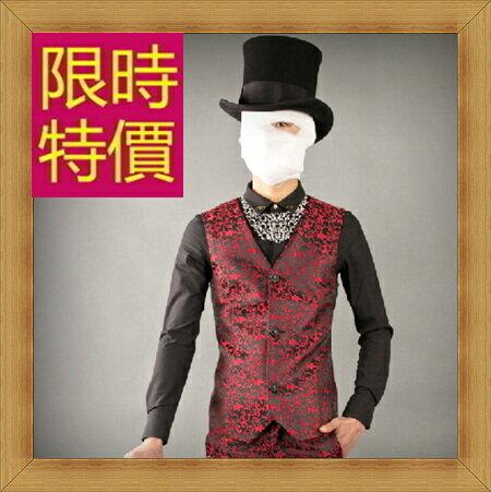 西裝背心 男西服-韓版時尚修身男馬甲57h3【韓國進口】【米蘭精品】