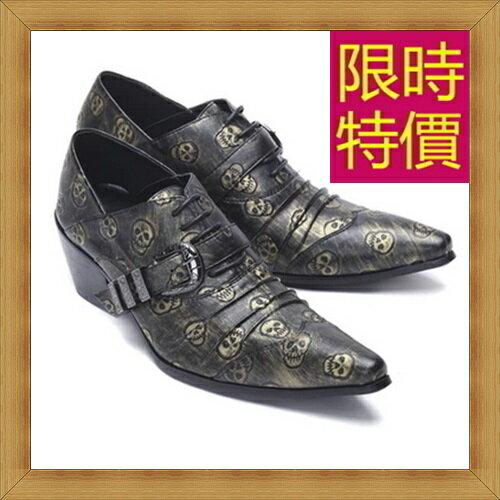 ~真皮皮鞋男休閒鞋~ 紳士商務男尖頭鞋58w85~義大利 ~~米蘭 ~