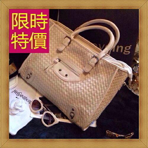 機車包 手提包-鉚釘流蘇拉鍊皮革女包包2色59e40【西班牙進口】【米蘭精品】