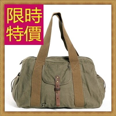 <br/><br/> ☆帆布包 手提包-大容量旅行出遊攜帶方便男側背包3色59j40【日本進口】【米蘭精品】<br/><br/>