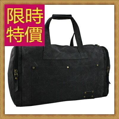 ★帆布包 手提包-大容量旅行出遊攜帶方便男側背包2色59j42【日本進口】【米蘭精品】