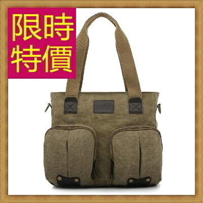 <br/><br/> ☆帆布包 手提包-大容量旅行出遊攜帶方便男側背包3色59j72【日本進口】【米蘭精品】<br/><br/>