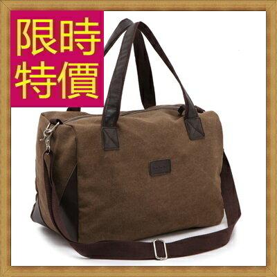 ★帆布包 手提包-大容量旅行出遊攜帶方便男側背包2色59j78【日本進口】【米蘭精品】