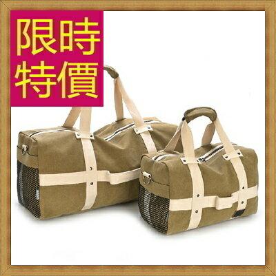 帆布包 手提包-大容量旅行出遊攜帶方便男側背包5色(大)59j82【日本進口】【米蘭精品】