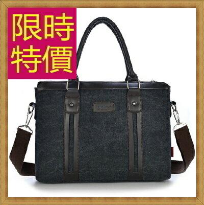 ★帆布包 手提包-大容量旅行出遊攜帶方便男側背包4色59j88【日本進口】【米蘭精品】