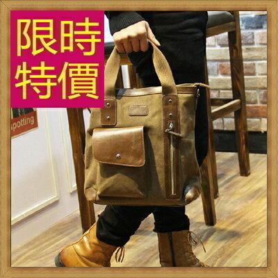 ★帆布包 手提包-大容量旅行出遊攜帶方便男側背包2色59j89【日本進口】【米蘭精品】