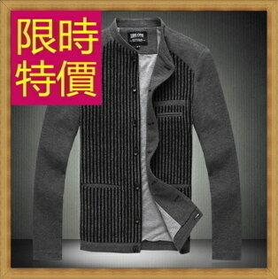 ☆防風外套  男夾克-保暖修身休閒短版男外套6色59y59【韓國進口】【米蘭精品】