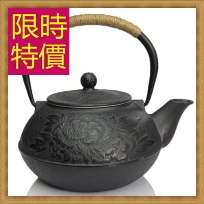 ~ 鐵壺茶壺~鑄鐵泡茶品茗南部鐵器水壺老鐵壺1款61i6~ ~~米蘭 ~