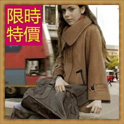 ★斗篷外套  披風-秋冬保暖典雅羊毛女外套61o12【韓國進口】【米蘭精品】 1
