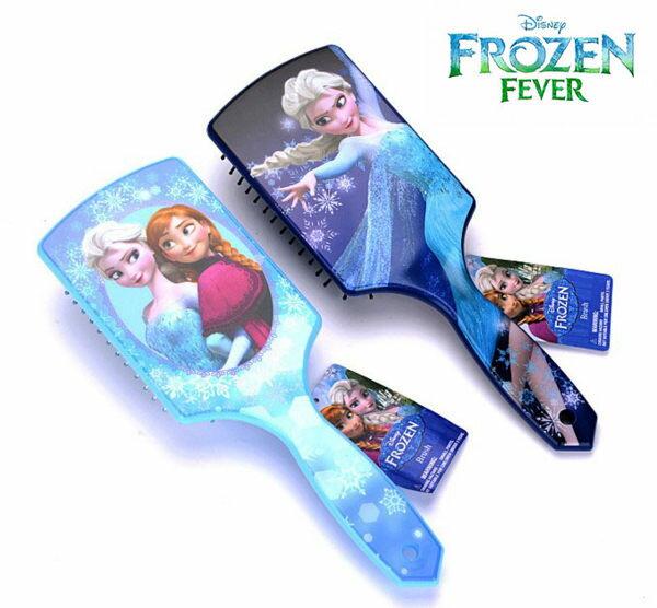 EMMA商城~冰雪奇緣氣墊梳子大板按摩特寬氣囊梳子兒童防靜電