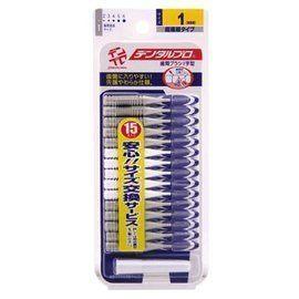 日本進口【JACKS】l 型 齒間刷*15支入/卡* (7種尺寸) 0