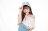 RM滿版花紋老帽-藍 0