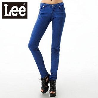 【單一價↘899】Lee 牛仔褲 467 超低腰修身窄管-女款(藍)