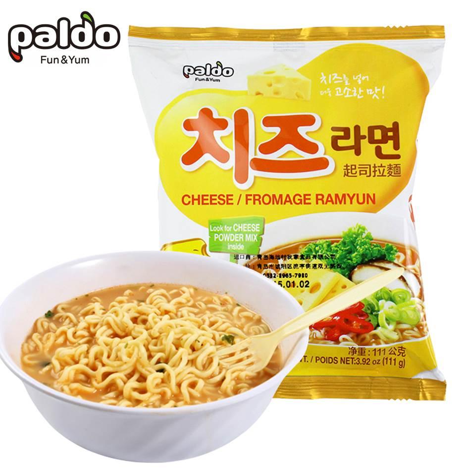 【paldo八道】韓國御膳起司拉麵 單包/4包入 韓國進口 速食湯麵▶全館滿499宅配免運