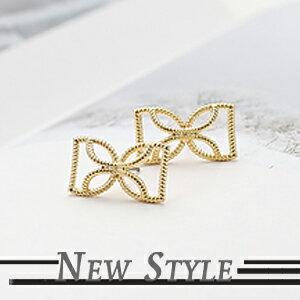 ☆ New Style ☆ 來自星星的你 千頌伊 全智賢 同款蝴蝶結耳釘耳環 (單支)