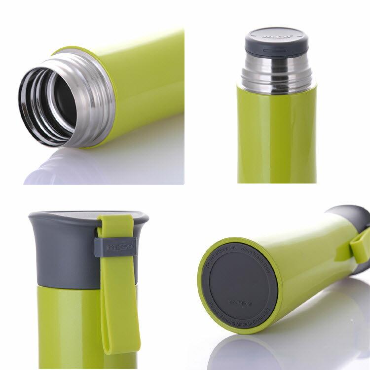 migo保溫杯 450ml 304不銹鋼內外 真空強效保溫  保溫壺/隨手杯 304不鏽鋼 1