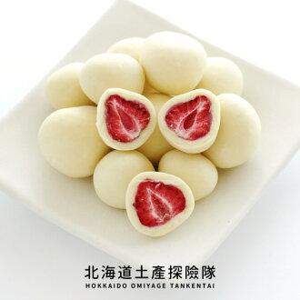 「日本直送美食」[六花亭] 草莓巧克力 (白巧克力/新包裝) ~ 北海道土產探險隊~ - 限時優惠好康折扣