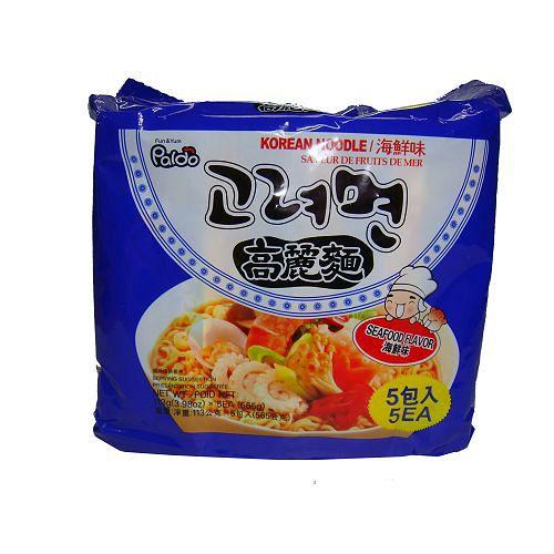 韓國PALDO高麗麵海鮮味113g*5包【愛買】