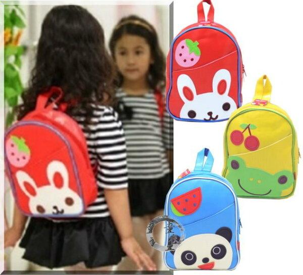 童衣圓【HA033】HA33貼布後背包手提動物水果貼布雙肩包後揹包~肩帶可調整~郊遊必備包