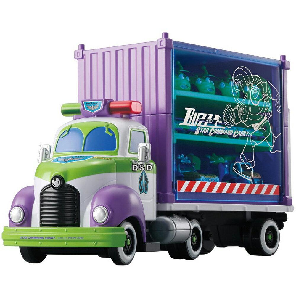 《TOMICA》迪士尼 - 玩具總動員巴斯收納車 (未附小汽車)