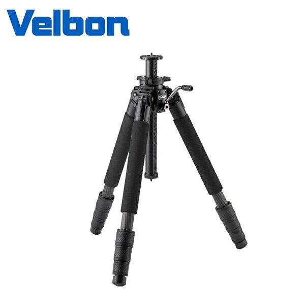 ◎相機專家◎VelbonPROGEOV640碳纖維旋鈕式三腳架載重10kg送原廠腳架袋公司貨