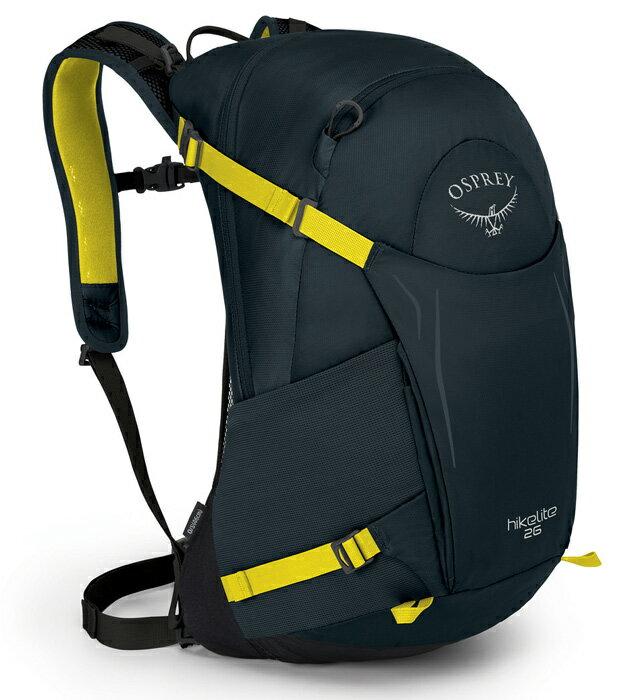 【鄉野情戶外用品店】 Osprey |美國| Hikelite 26 運動背包/健行背包 旅行背包-椎茸灰/Hikelite26 【容量26L】