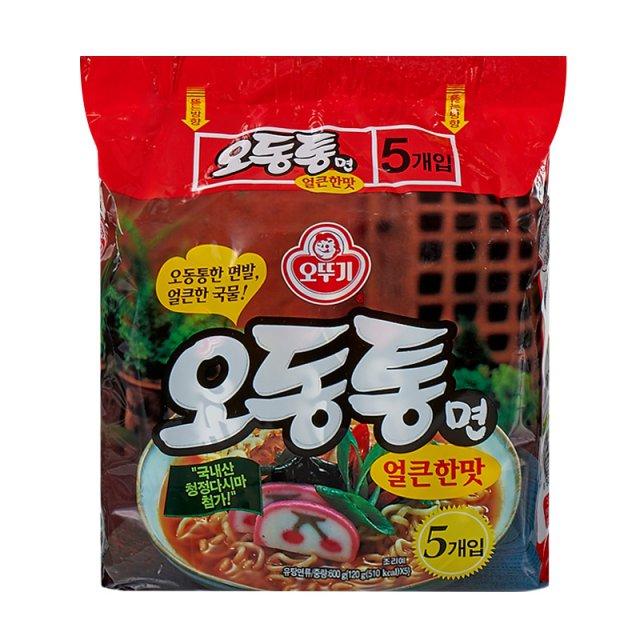即期良品2017 9  16到期買一送一~~~  奧多吉 韓國 辛辣海鮮風味拉麵 600g